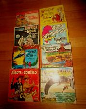 VINTAGE RARE LOT CASTLE FILM SUPER 8 SPACE AFRICA CARTOON ABBOTT COSTELLO