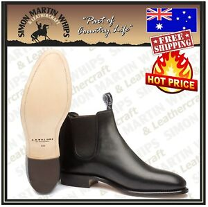 RM Williams Adelaide Classic Boots - Australian Made - FREE SHIPPING RRP $595.00