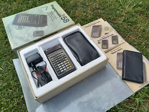 Texas Instruments TI-58 ULTRA RARE EURO calculator - MINT in BOX, WORKS