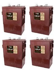 (4)Trojan L16E-AC, 6V 370 Ah Deep Cycle Battery, 4 PACK, FREE SHIPPING