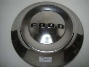 1952 53 54 Ford  Customline Crestline Ranch Wagon Hubcap Wheelcover #7021