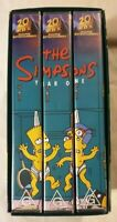 The Simpsons: Year One (Season One) VHS 2000 Box Set 20th Century Fox Home Video