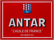 ANTAR L'Huile De France - Classic French Metal Sign