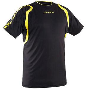 Salming Rex Jersey Handball Kinder Sport Trikot 1194630-0109 Gr. 140 schwarz neu