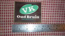 1950s HOLLAND BEER LABEL, BIERBROUWERIJ DE VRIENDENKRING NETHERLANDS, VK BRUIN
