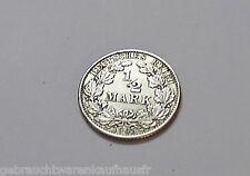 Halbe Mark Silber Münze Deutsches Reich von 1906 E