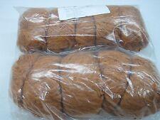 Naturwolle zum stricken strickwolle| braun 500gr baum/Vis garn stricken 1200m