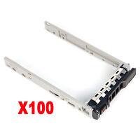 "100PCS 2.5"" Caddy Tray For Dell R730 R900 R720 R520 R320 T630 KG7NR 8FKXC G176J"