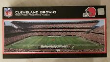 NEW MASTERPORCES CLEVELAND BROWNS STADIUM PANORAMIC JIGSAW PUZZLE NFL 1000 PC