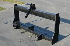Bobcat Skid Steer Attachment - 3 Point Hitch Tractor Adapter Mount - Ship $149