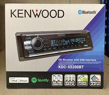 Kenwood KDC-X5200BT CD MP3 Bluetooth USB iPhone Android Car Van Stereo EX-DEMO
