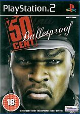 50 Cent: Bulletproof Sony Playstation 2 PS2 18+ Shooter Game