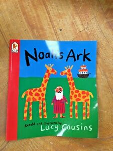 Noah's Ark By Lucy Cousins. 9780744525557 🌈🦓🦓🐅🐅🐘🐘🌧