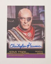 CHRISTOPHER PLUMMER AUTOGRAPH Chang A57 Star Trek Movies in Motion Rittenhouse
