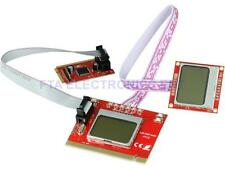 Dual LCD Mini PCI-E PCI LPC Diagnostic Analyzer Post Test Debug Cards Debug Card
