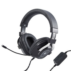 4D Gaming Headset Microphone For Surround PC Computer Headphone F1