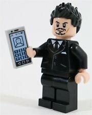 LEGO IRON MAN SUIT TONY STARK MINIFIGURE AVENGERS MARVEL - MADE OF GENUINE LEGO