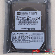 "TOSHIBA 80 GB HDD (MK8025GAS) IDE 4200 RPM 2.5"" 8 MB Hard Disk Drive Free ship"