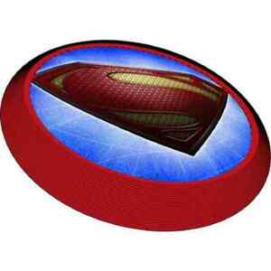 Man of Steel Superman Comic Superhero Birthday Party Favor Flying Disks Discs