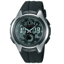 Casio AQ-160W-1BV Silver Black Digital Analog Unisex Sports Watch