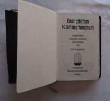 Evangelisches Kirchengesangsbuch mit Goldschnitt im Original Pappschuber  /S53