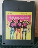Vintage All Time Greatest Rock N Roll Hits 8 Track Cassette Tape
