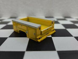 Service utility truck bed parts lot custom builds 1/64 Greenlight  4x4 farm ertl