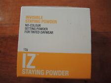 Invisible Zinc IZ Staying powder setting powder 12g for tinted daywear