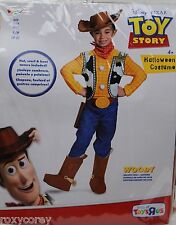 Halloween Disney Toy Story Woody Costume Size Small 4-6 NWT