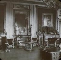 Green Room, Windsor Castle, England, Magic Lantern Glass Slide