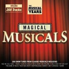 MAGICAL MUSICALS - THE MUSICAL YEARS 10CDs (New & Sealed) Classic Show Tunes