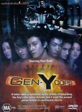GEN-Y COPS aka GEN-X Cops 2 Metal Mayhem (Paul RUDD) Hong Kong ACTION DVD Reg 4
