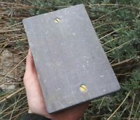 LARGE NATURAL WELSH SLATE SHARPENING STONE HANDMADE IN WALES RECLAIMED SLATE