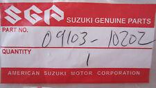S1 GENUINE Suzuki 09103-10202 BOLT --- BOLT, KNUCKLE ARM (SEE FITMENT BELOW)