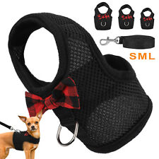 Rabbit Harness and Leash Set Hamster Cat Ferrets Squirrel Vest Small Puppy Dogs