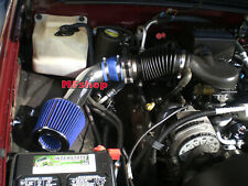BLUE 1PC For 1996-2000 Chevy Tahoe 5.0L 5.7L V8 Air Intake Kit + Filter