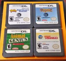 Dolphinz, Petz Pony, Puppy Playtime, Animal - Nintendo DS Lite 2ds 3ds Game Lot