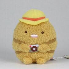 """San-X Sumikko Gurashi """"Travel"""" Mini (6.5 cm) Plush (Tonkatsu)"""