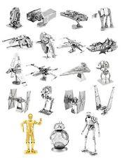 Star Wars Metal Earth 3D Models Laser Cut DIY Steel Miniatures 19 Designs NEW