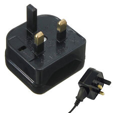 European Euro EU 2 Pin to UK 3 Pin Plug Adapter Power Socket Travel Converter-