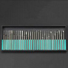 30PCS Nail Art Electric File Drill Bits Replace Manicure Pedicure Kit Set Tools