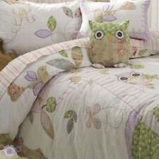 Lulu Ooh Ooh Duvet Doona Quilt Cover Set | Quilted | Owl | Bird | Twin | Single
