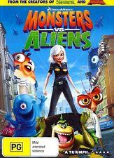 MONSTERS VS. ALIENS : NEW DVD