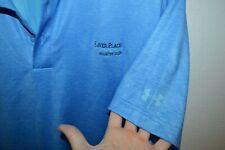 River Place Country Club austin texas under armour Polo Golf mens medium shirt