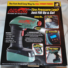As Seen on TV Air Dragon Portable Air Compressor Emergency Automatic Stop