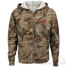 Virginia Tech Hokies Realtree Camo Full Zip Hooded Sweatshirt