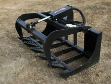 "MTL Bobcat MT52-55 453-553 mini skid steer 48"" HD-XL Root Grapple-Ship $139"