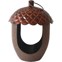 Peckish Hanging Bird Feeder, Acorn Shaped - Ideal for Mealworms or Suet Pellets