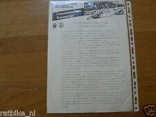 1979 PRESSE INFO WK ICESPEEDWAY KWARTFINALE DEVENTER 10&11 FEBRUARI 1979