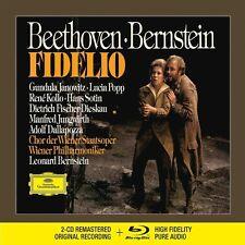 FIDELIO (FISCHER-DIESKAU, SOTIN, KOLLO,...)  2 CD+BLU-RAY NEU